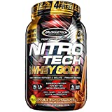 MuscleTech NitroTech Whey Gold, 100% Whey Protein Powder, Whey Isolate...