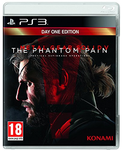 PS3 Metal Gear Solid V 5 The Phantom Pain Day One Uncut UK Import auf deutsch spielbar