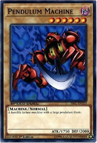 Yu-Gi-Oh! - Pendulum Machine - SBSC-EN023 - Common - 1st Edition - Speed Duel - Scars of Battle