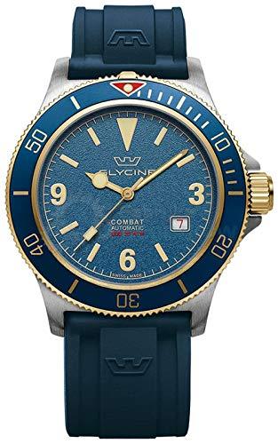 Combat Vintage Mens Analog Automatic Watch with Nylon Bracelet GL0264