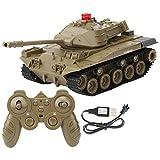 Tanques Teledirigidos, Tanque RC Eléctrico para Niños, 1:16 2.4Ghz Tanque Control Remoto 1:16...