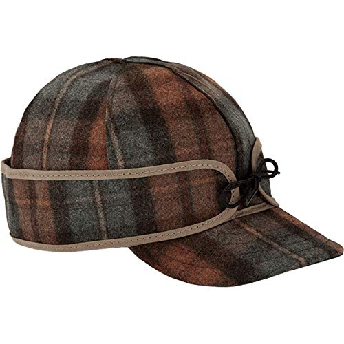 Stormy Kromer Original Kromer Cap - Winter Wool Hat with Earflap