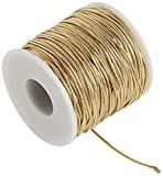 Morex Ribbon Stretch Cord Ribbon, 50 Yd, Gold