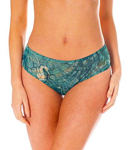 Kiniki Santorini Tan Through Sonnendurchlässige High Waisted Bikinihose Damen Bademode
