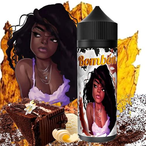 E-Liquid BOMBON | 120ML TPD | ElecVap | Sin Nicotina: 0MG | E-Liquido vapeo para Cigarrillos Electronicos - E Liquidos para Vaper 70/30