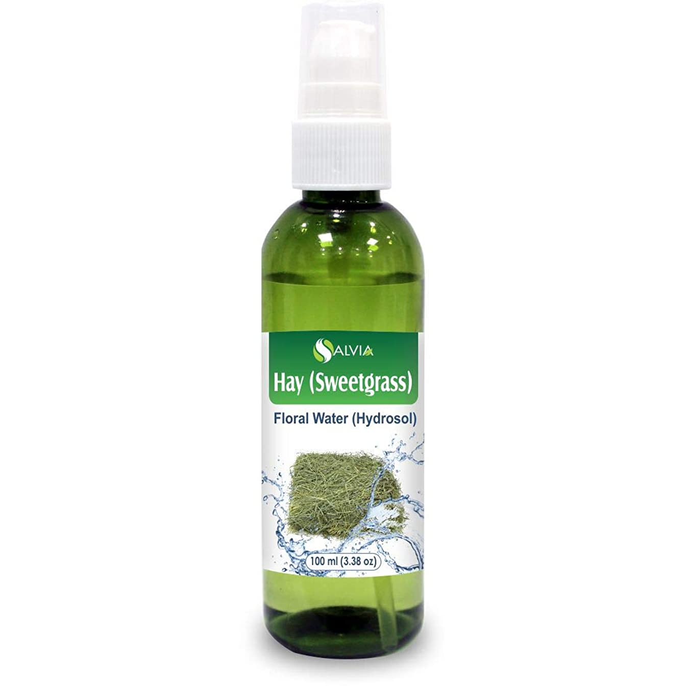それに応じて大使牽引Hay (Sweetgrass) Floral Water 100ml (Hydrosol) 100% Pure And Natural