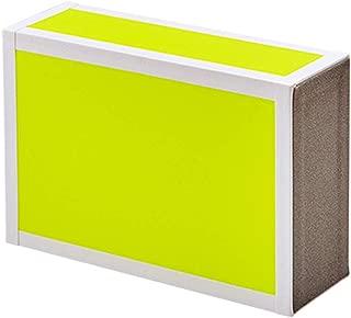 Henrys Juggling Wooden Cigar Box - Neon Yellow - 1 Box