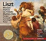 Liszt : Oeuvres orchestrales et lieder. Tokody, Reti, Hotter, Karajan, Ferencsik, Furtwängler, Reiner.