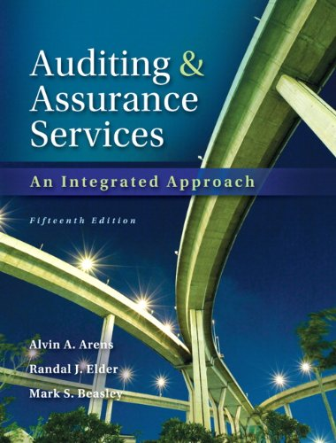 Auditing and Assurance Services with ACL Software CD (15th Edition)
