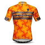Maillot de ciclismo para hombre, manga corta, S-XXXL, puños de licra - - For Your Chest 42.5-45.6' (XL)