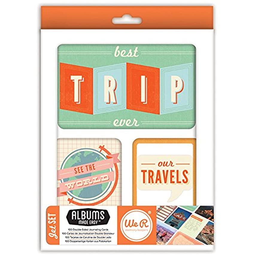Jet Set Albums Made Easy Journaling Cards - We R Memory Keepers