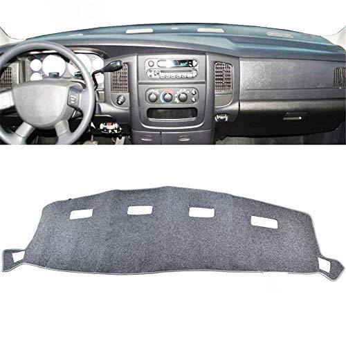 , Voor AutoDash Cover, Voor Dodge Ram 1500 2500 3500 2000-2005 Dashboard Mat Pad Dashmat Dash Mat Lichtgrijs Grijs 2001 2002 2003 2004
