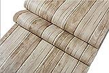 壁紙 シール 木目 模様 60cm × 10m 木 DIY 模様替え リフォーム (枯木)