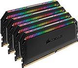 CORSAIR DDR4-3600MHz デスクトップPC用 メモリ DOMINATOR PLATINUM RGB シリーズ 32GB [8GB×4枚] CMT32GX4M4C3600C18