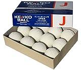 ナガセケンコー ケンコーボール公認球 J号(小学生用) 軟式野球公認球 1ダース J