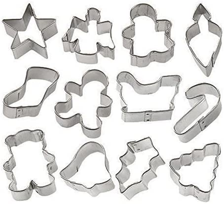 lowest Z-bond Holiday popular Mini Cookie popular Cutter set of 12 outlet sale