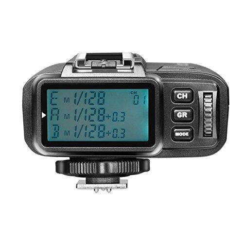 Neewer TTL 1/8000s HSS 2,4G Transmisor de Disparador de Flash Inalámbrico para Olympus Panasonic Cámara Digital sin Espejo y NW400o TT350o NW600BM AD600 AD600M Flash (N1T-O) etc.