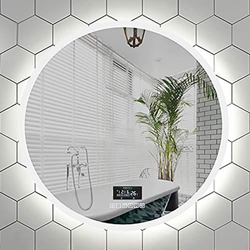 Moderner Beleuchteter Badezimmerspiegel mit Induktion des Menschlichen Körpers,...
