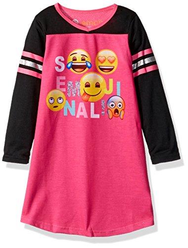 Emoji L23819 – Niña, Multicolor, 3 Años
