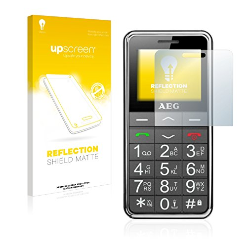 upscreen Entspiegelungs-Schutzfolie kompatibel mit AEG Voxtel SM250 – Anti-Reflex Bildschirmschutz-Folie Matt