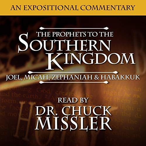 Prophets to the Southern Kingdom: Joel, Micah, Zephaniah, and Habakkuk cover art