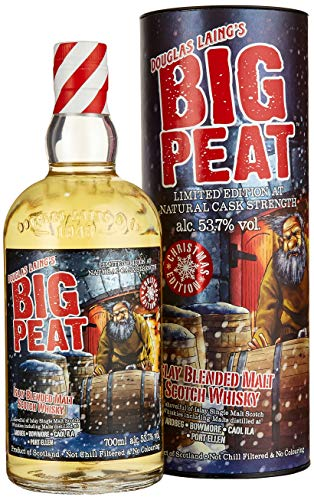 Douglas Laing Big Peat Islay Blended Malt Scotch Whisky Limited Christmas Edition 2019 (1 x 0.7 l)