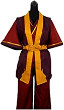 Anime Avatar The Last Airbender Prince Zuko Cosplay Costume Custom