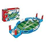 Liu Yu·casa creativa Mini Mesa De Futbolín Juegos De Mesa De Fútbol para Niños Adultos Juego Familiar Clásico Futbolín Juegos de Mesa de Fútbol, 1 Set Mini Futbolín Juego Regalo De Cumpleaños