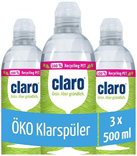 CLARO Nettoyant écologique pour la vaisselle 3 x 500 ml
