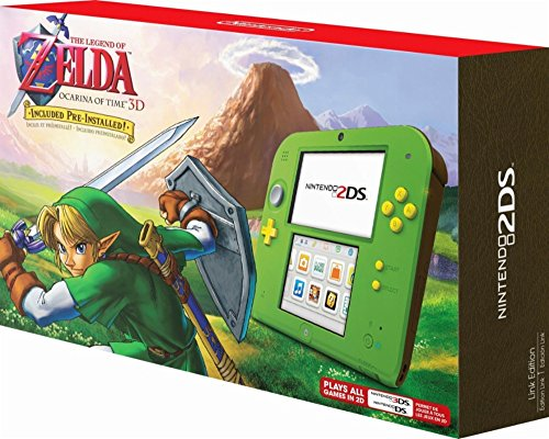 Nintendo 2DS - Legend of Zelda Ocarina of Time 3D