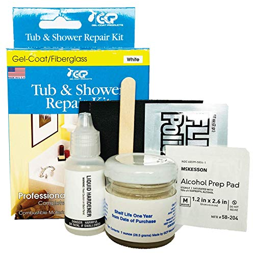 Gelcoat Products 001 Tub and Shower Repair Kit Sealers