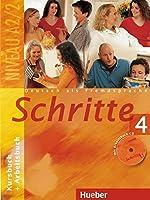 Schritte: Kurs- Und Arbeitsbuch 4 MIT CD Zum Arbeitsbuch