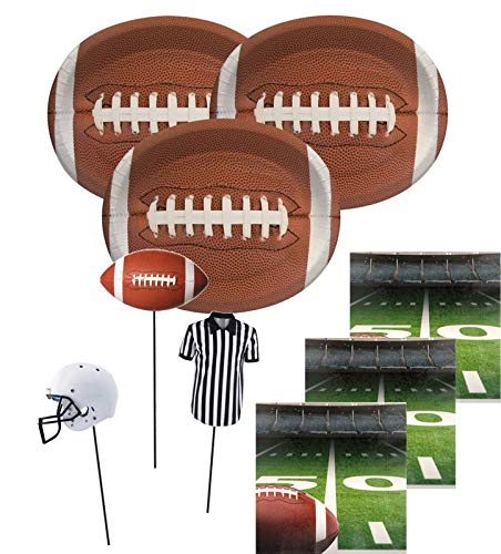 27 Teile American Football Superbowl Party Deko Set 8 Personen