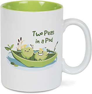 Pavilion Gift Company 74813 Two Peas In A Pod Mug
