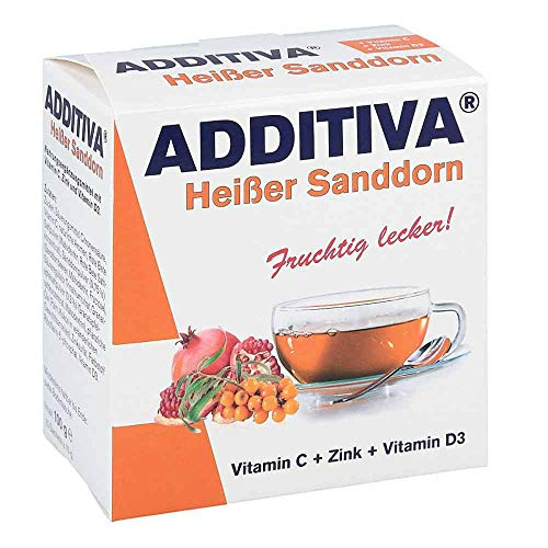 Additiva Hei�er Sanddorn Pulver, 100 g