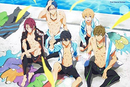 12' x 18' Free! - Eternal Summer Iwatobi Swim Club Poster