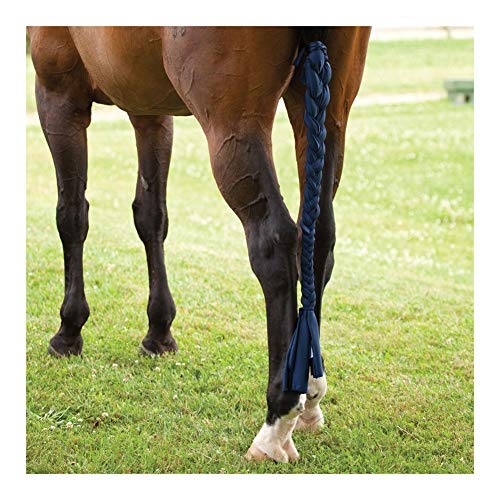Sleazy Sleepwear For Horses 3 Tube Horse Tail Bag Solids Black