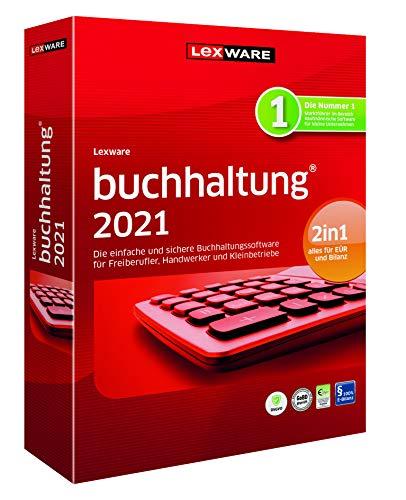 Lexware buchhaltung 2021|basis-Version Minibox (Jahreslizenz)|Einfache Buchhaltungs-Software für Freiberufler|Kompatibel mit Windows 8.1 oder aktueller|Standard|1|1 Jahr|PC|Disc