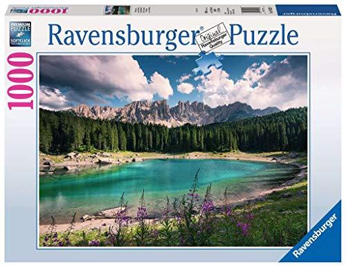 Ravensburger 19832, Puzzle 1000 Pezzi, Gioiello delle Dolomiti, Linea Foto & Paesaggi, Puzzle per Adulti