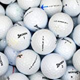 Srixon Golfbälle 48 Z Star Lake B-Qualität Lote de Pelotas de Golf usadas recuperadas, Unidades, Grado B, Unisex, Blanco