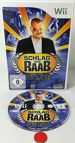 Schlag den Raab: Das 2. Spiel | Nintendo Wii U |Wii |gebraucht in OVP