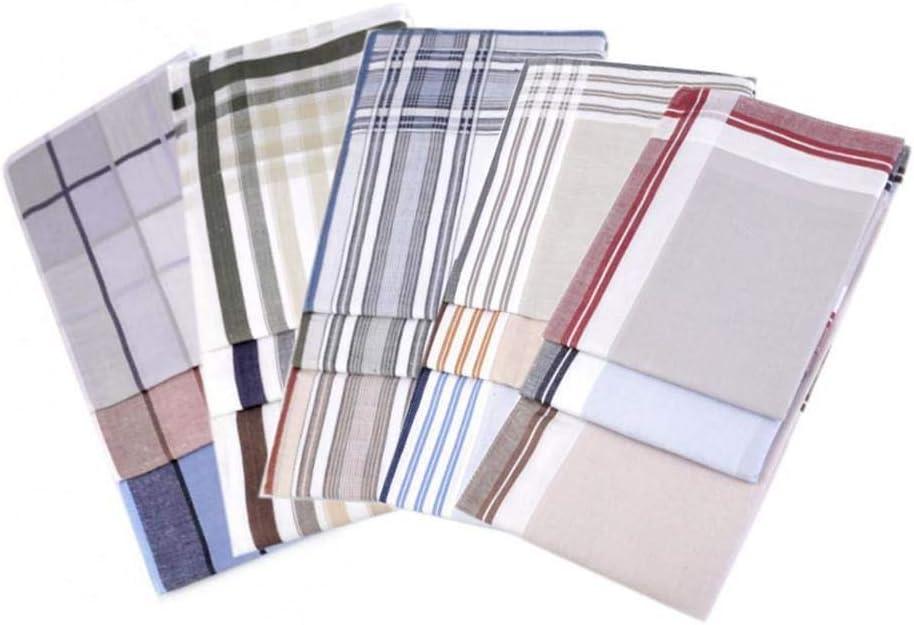 6pc Ix Variations Men's Handkerchief, Mens Handkerchiefs, Fashion Accessories, 40 cm