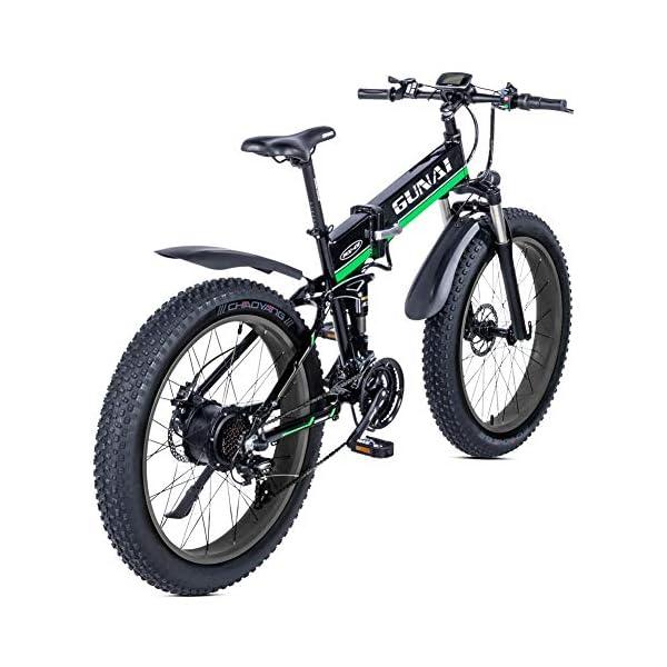51xY5n+Fo L. SS600  - GUNAI Elektro Fahrrad 1000W 48V Llithium Batterie Mountain E-Bike mit Hydraulische Scheibenbremsen