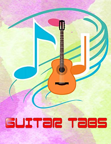 Ultimate Guitar Tab Treasure Chest: Guitar Tabs And Chords Free Size 8.5x11 Inch ~ Bass - Play # Bass ~ Matte Cover Design White Paper Sheet 116 Page Standard Print.