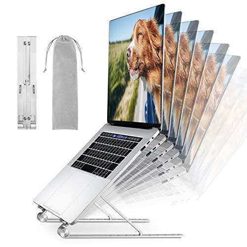 SAIMPU Laptop Stand-9 Levels supporti regolabili per laptop a 9 livelli, alzata portatile per laptop