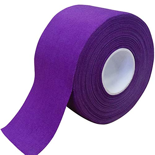 """Meister 15Yd x 1.5"""" Premium Athletic Trainer's Tape for Sports and Medical (50% Longer) - Purple - 1 Roll"""