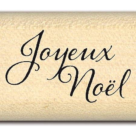 Florilèges Design FA211151 Tampon Scrapbooking Mini Joyeux Noel, Beige