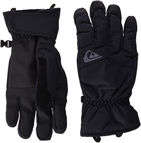 Quiksilver Cross Glove Gants de Ski Homme, Noir, FR : M (Taille Fabricant : M)