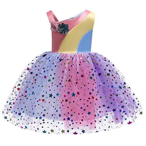 Guesspower_Vêtements pour enfants Ensemble Fille 6 Ans/Ensemble Fille 5 Ans/déguisement Carnaval/Fille 6 Ans/Enfant Robe Princesse/Enfant Robe de Soiree/Enfant Robe de Ceremonie/Enfant Robe Mariage