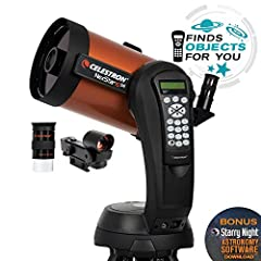 NEXSTAR COMPUTERIZED TELESCOPE: The NexStar 6SE Computerized Telescope features Celestron's iconic orange tube design with updated technology and the latest features for amazing stargazing for beginners and experienced observers. 6-INCH APERTURE: The...